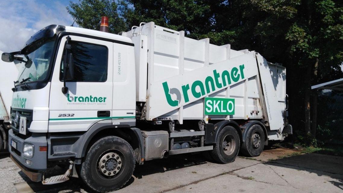 Označovanie zberových vozidiel Brantner