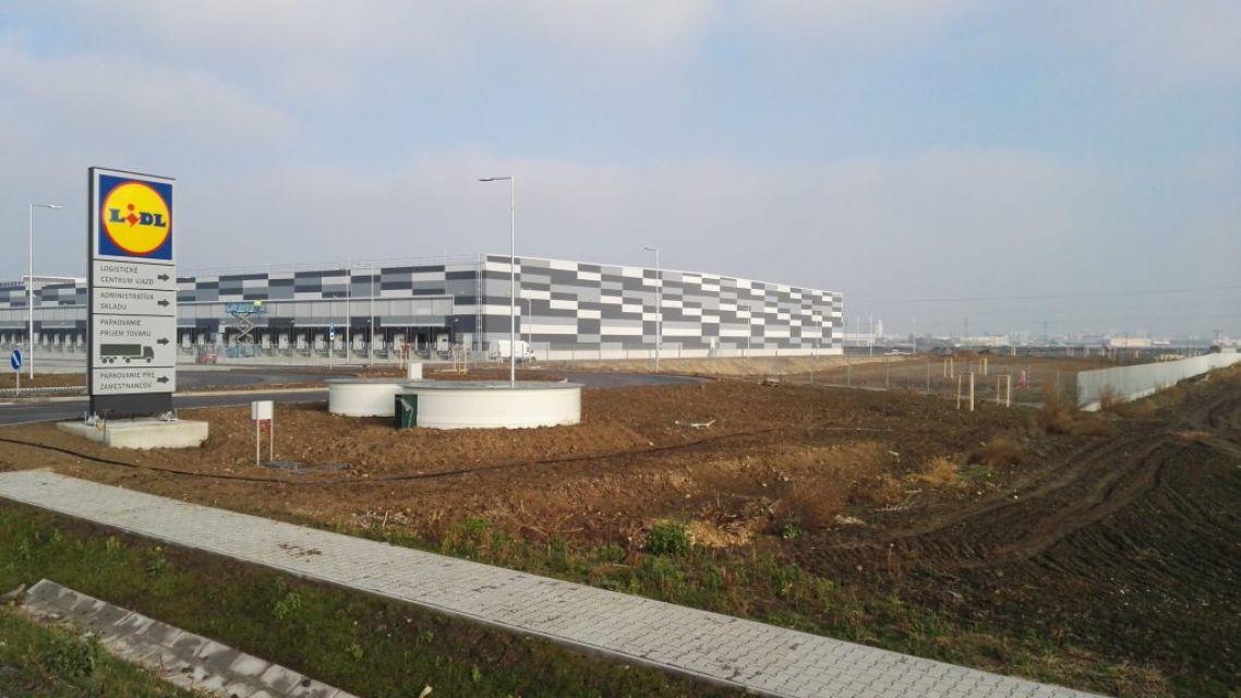 Logistické centrum LIDL Rakovo